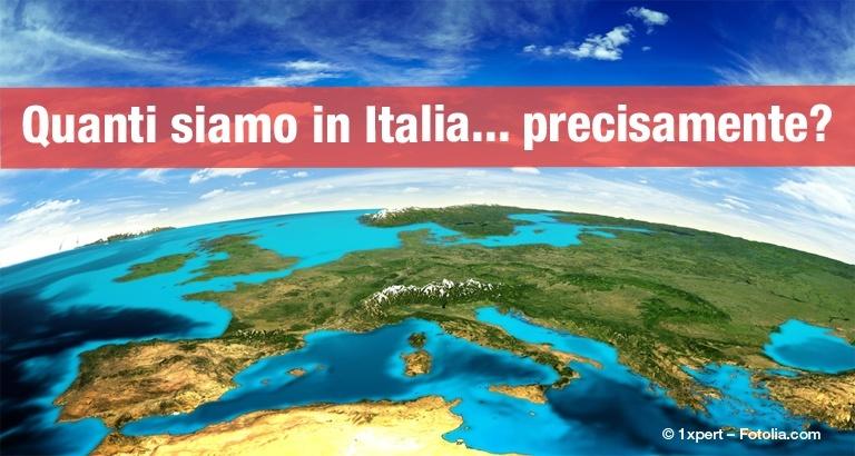 Quanti siamo in Italia nel 2016?