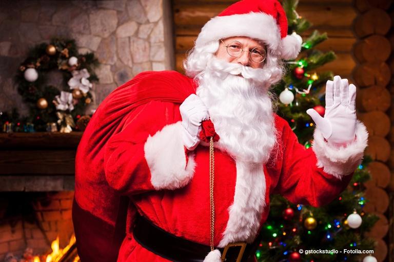 Babbo Natale, uno dei simboli del Natale.