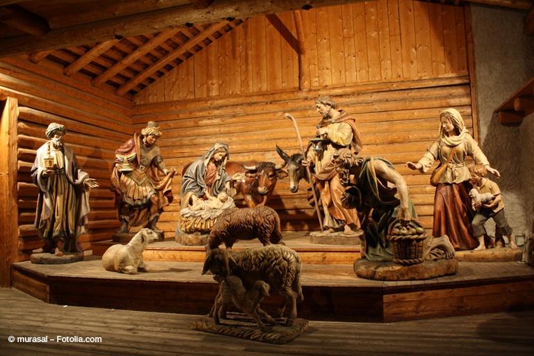 Il presepe, uno dei simboli del Natale.